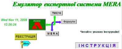 Емулятор експертної системи статистичного контролю відомчих каналів зв'язку