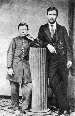 Галерея І. Карпенка-Карого - З братом…