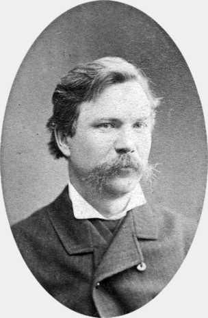 Фотопортрет І. К. Тобілевича, 1883 р., Єлисаветград