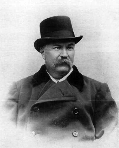 Фотопортрет І. Карпенка-Карого, 1890 р.