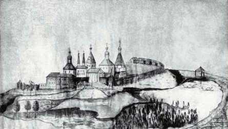 Вид на Ферапонтів монастир