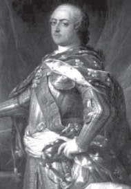 Французький король Людовік XV