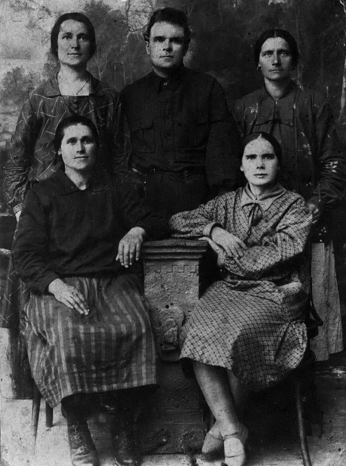 Семейное фото (начало 1930-х гг.)