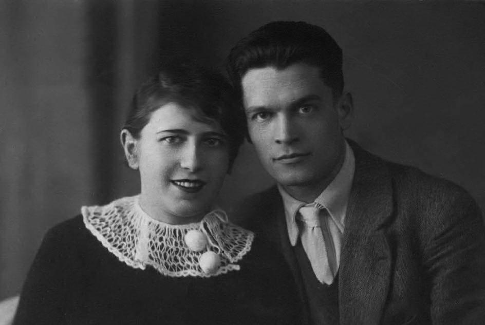 О. О. Кирій з дружиною (1937р.)