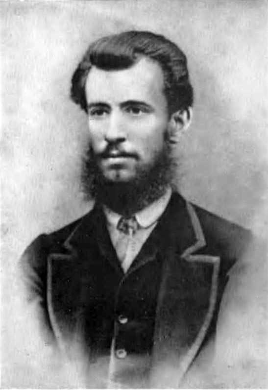 Фотопортрет Панаса Мирного, 1870 р.