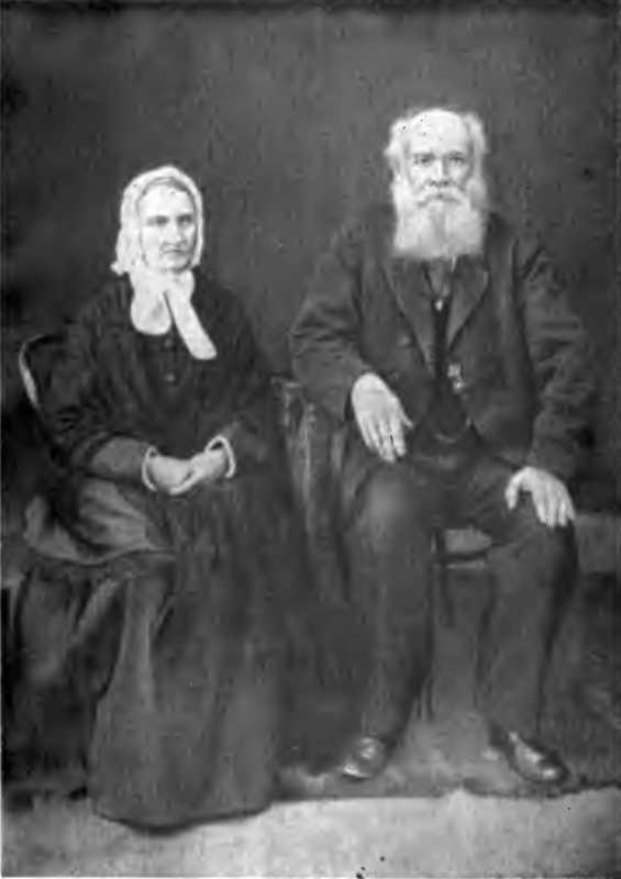 Фотопортрет батьків Панаса Мирного – Тетяни Іванівни та Якова Григоровича Рудченків, 1889 р.