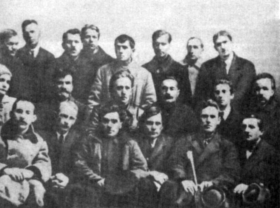 Група українських письенників, 1923 р.