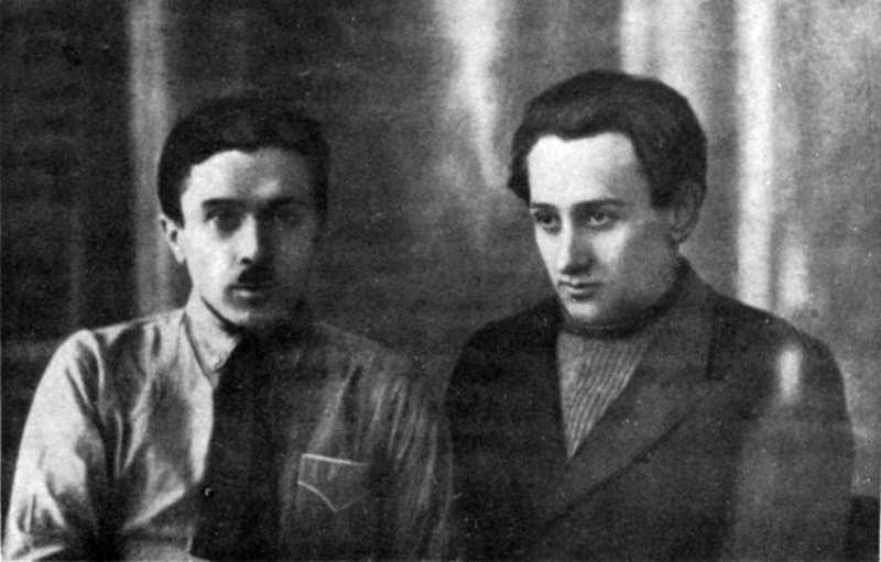 Микола Хвильовий та Валеріан Поліщук.…