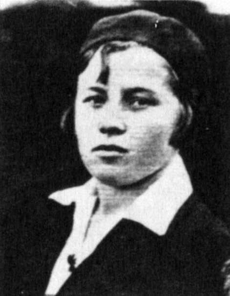 І. Фітільова, фото 1937 р.