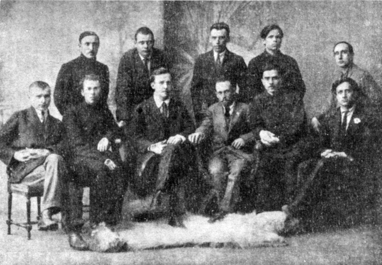 Засновники «Гарту», 1923 р.