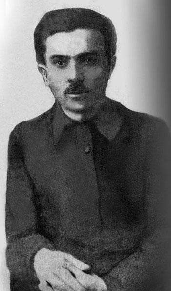 Микола Хвильовий - фото поч. 1920-х рр.