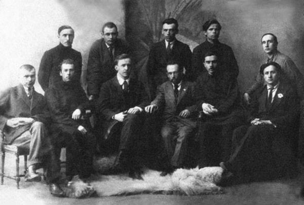 Керівники «Гарту», 1924 р.