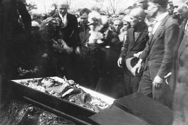 Похорон М. Хвильового, 1933 р.