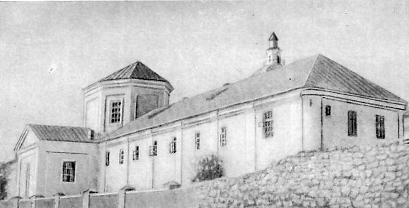 Будинок духовної школи (бурси) в м-ку…