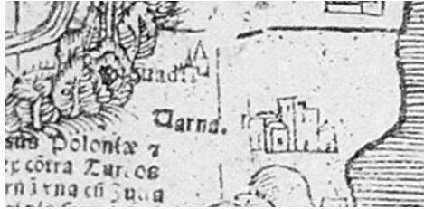 Рис. 4. Неідентифікований топонім поблизу Варни