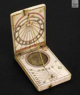 Рис. 6.2. Сонячний годинник з компасом, серед. XVII ст.