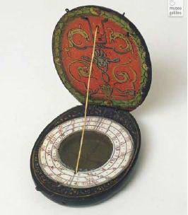 Рис. 6.3. Сонячний годинник з компасом, 1573