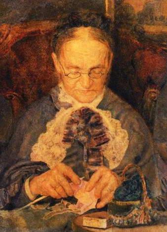 Портрет госпожи Кнорре, 1883 г.