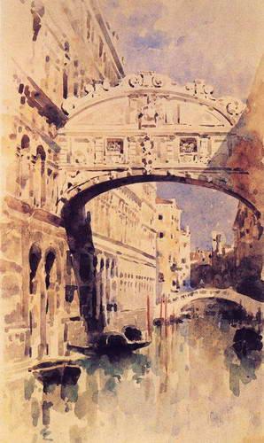 Венеция. Мост вздохов. 1894 г.
