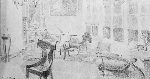 Мастерская Врубеля в Венеции. 1885 г.