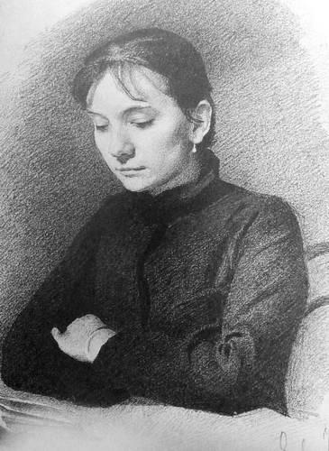 Портрет М. Ершовой. 1884 г.