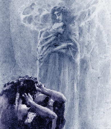 Иллюстрация к поэме «Демон» М.…