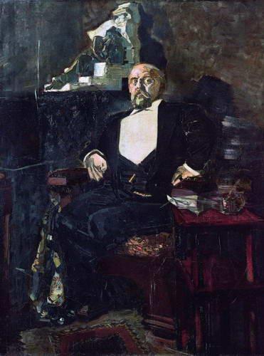 Портрет С. Мамонтова. 1897 г.