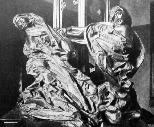 Скульптура «Роберт и Бертрам». 1896 г.