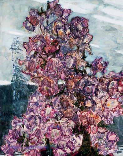 Цветы кампанулы. 1904 г.