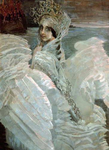 Царевна-Лебедь, 1900 г.