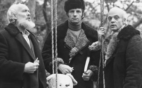Вацлав Дворжецький, режисер Сергій Тарасов та Владислав Дворжецький