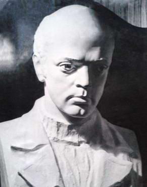 Бюст Дворжецького для надмогильного пам'ятника