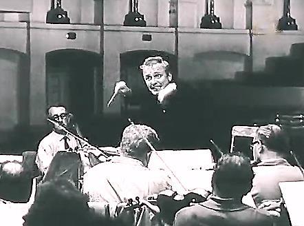 Кадр із фільму «Симфонія» («Укртелефільм», 1966 р.)