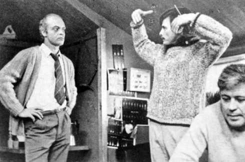 Під час зйомок фільму «Соляріс», 1971 р.
