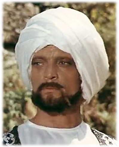 В. Дворжецький у ролі принца Даккара (1975)