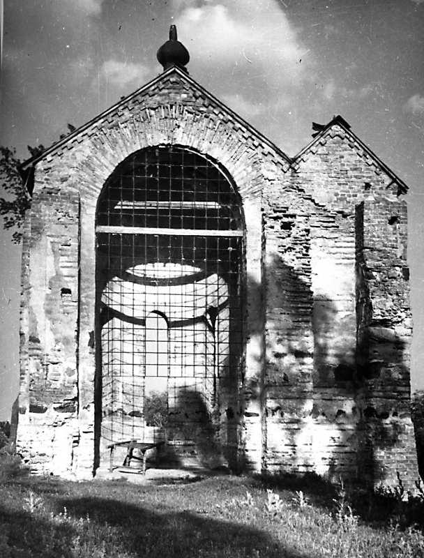 Остер. Церква св.Михаїла. Апсида. Вигляд із заходу. 1930-ті рр.