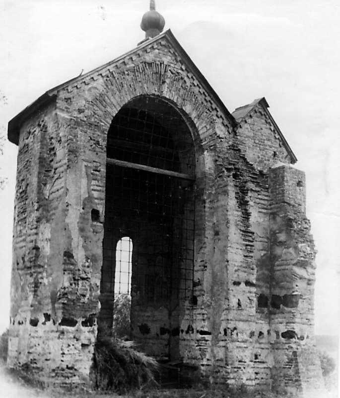 Остер. Церква св.Михаїла. Апсида. Вигляд з північного заходу. 1930-ті рр.