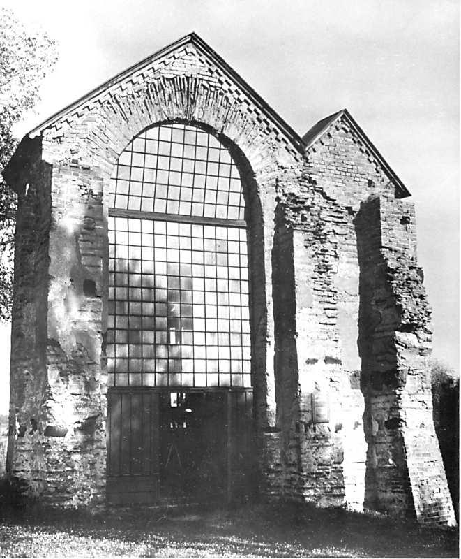 Остер. Церква св.Михаїла. Апсида. Вигляд з північного заходу. 1940-ві рр.