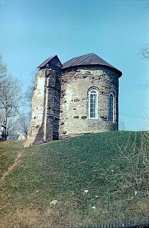 Остер. Церква св.Михаїла. Вигляд з…