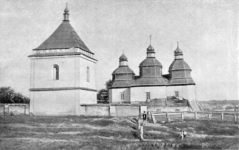 Успенская церковь в м. Пиляве Литинского уезда, 1799 года