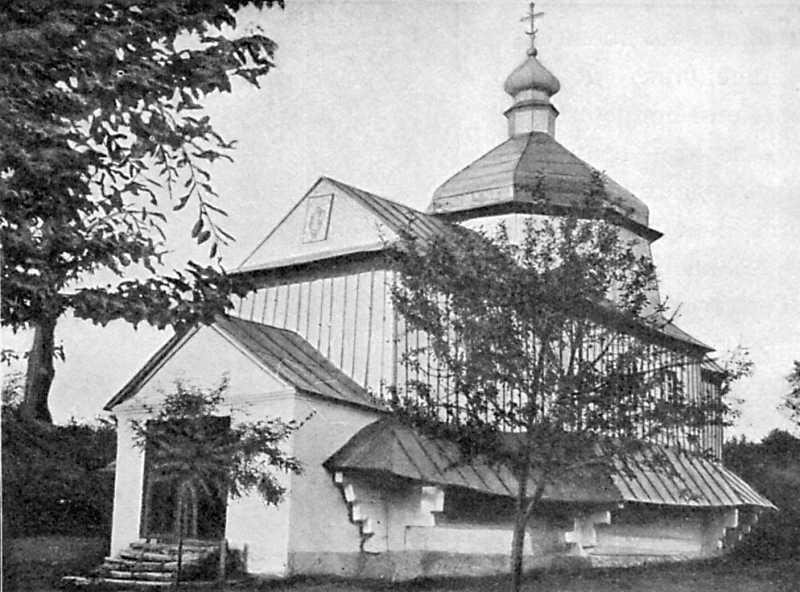 Св.-Дмитриевская церковь в с. Залуче-Черченское Каменецкого уезда, 1738 г.