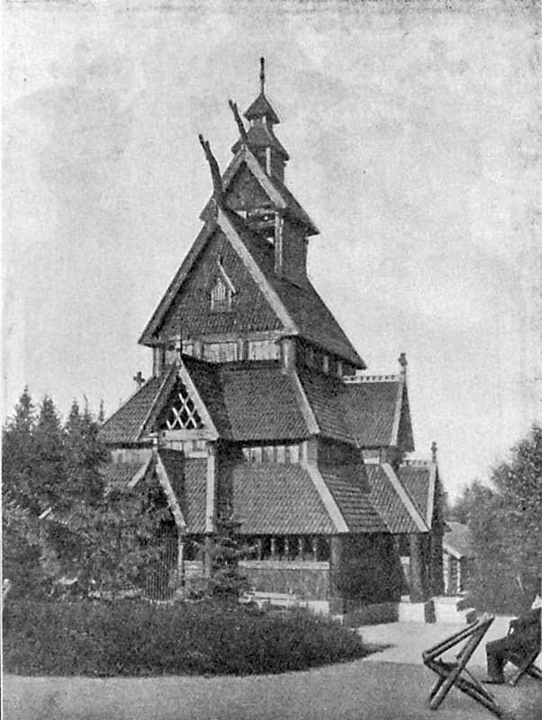 Церковь в Галлингдале (теперь в Христиании)