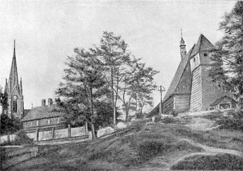 Церковь в Микульчуце в Силезии