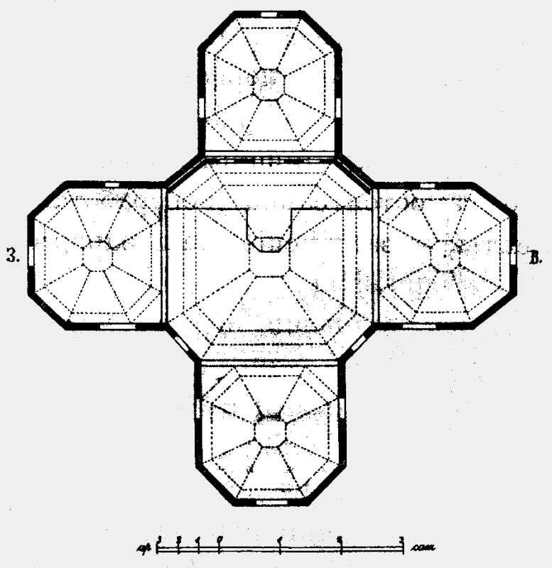 План Успенской церкви в м. Ярышеве Могилевского уезда.