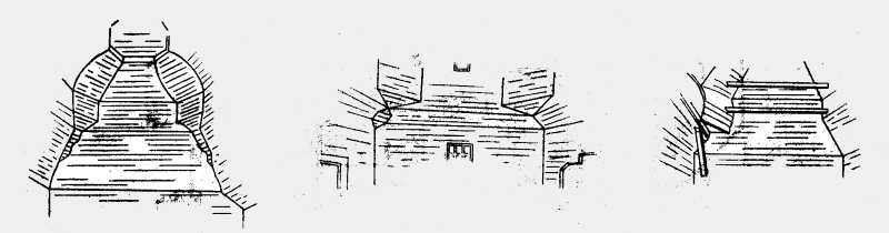 Вид сводов Преображенской церкви в м. Полонном Новоградволынского уезда Волынской губ.