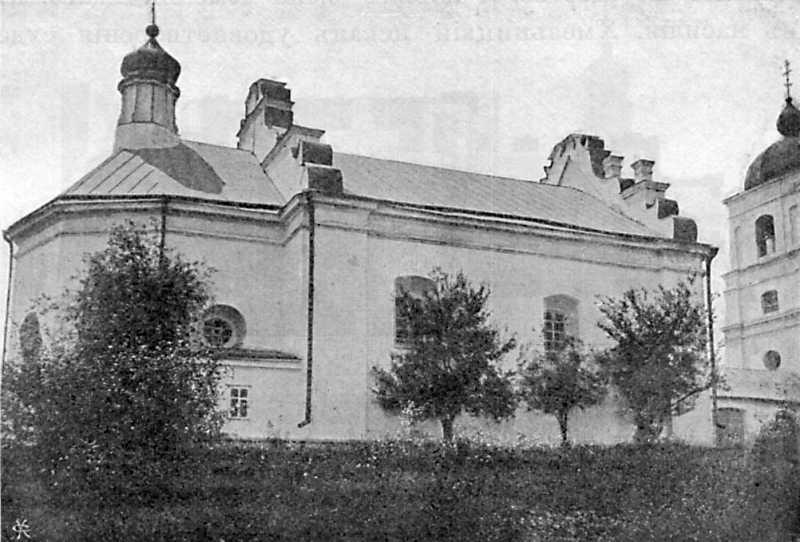 Ильинская церковь в с. Субботове Чигиринского уезда Киевской губ. Вид с северо-востока