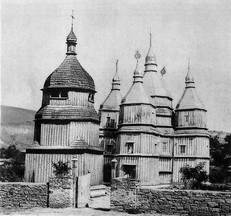Успенская церковь в м. Ярышеве