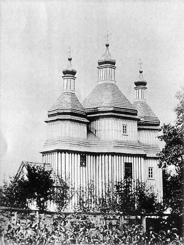 Михайловская церковь в м. Зинькове Летичевского уезда Подольской губ.