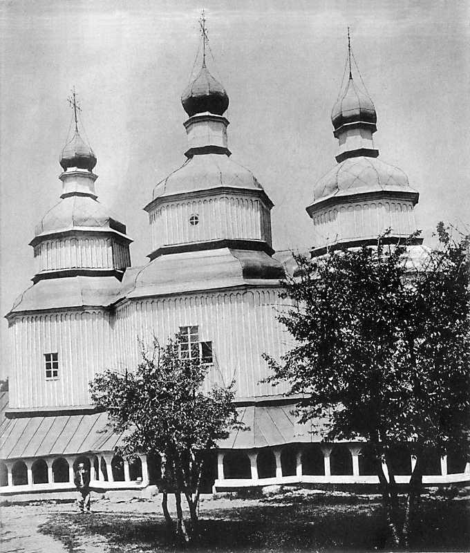 Церковь св.Николая в г. Виннице Подольськой губ.
