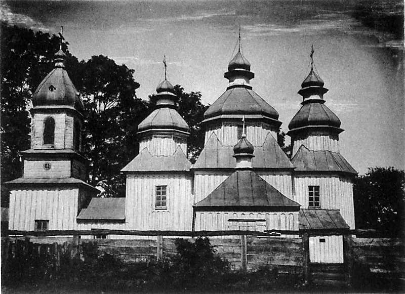 Церковь во имя св. Архистратига Михаила в с. Печановке Новоградволынского уезда Волынской губ.